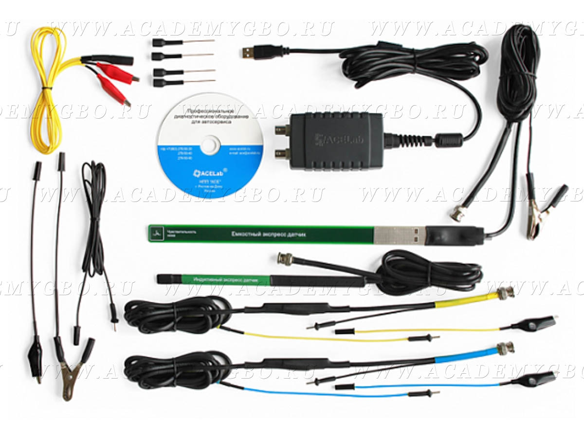 АВТОАС-ЭКСПРЕСС 2M - Двухканальная USB-приставка (мотор-тестер)