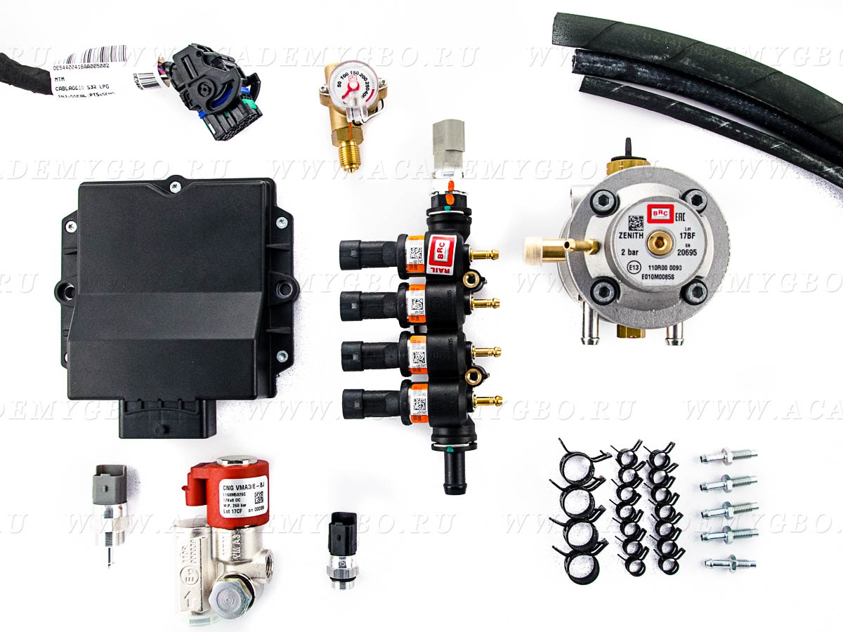 CNG P&D MY10 Aries 4 цил. A<104 kW, T<120 kW (оранжевые, Zenit MS)