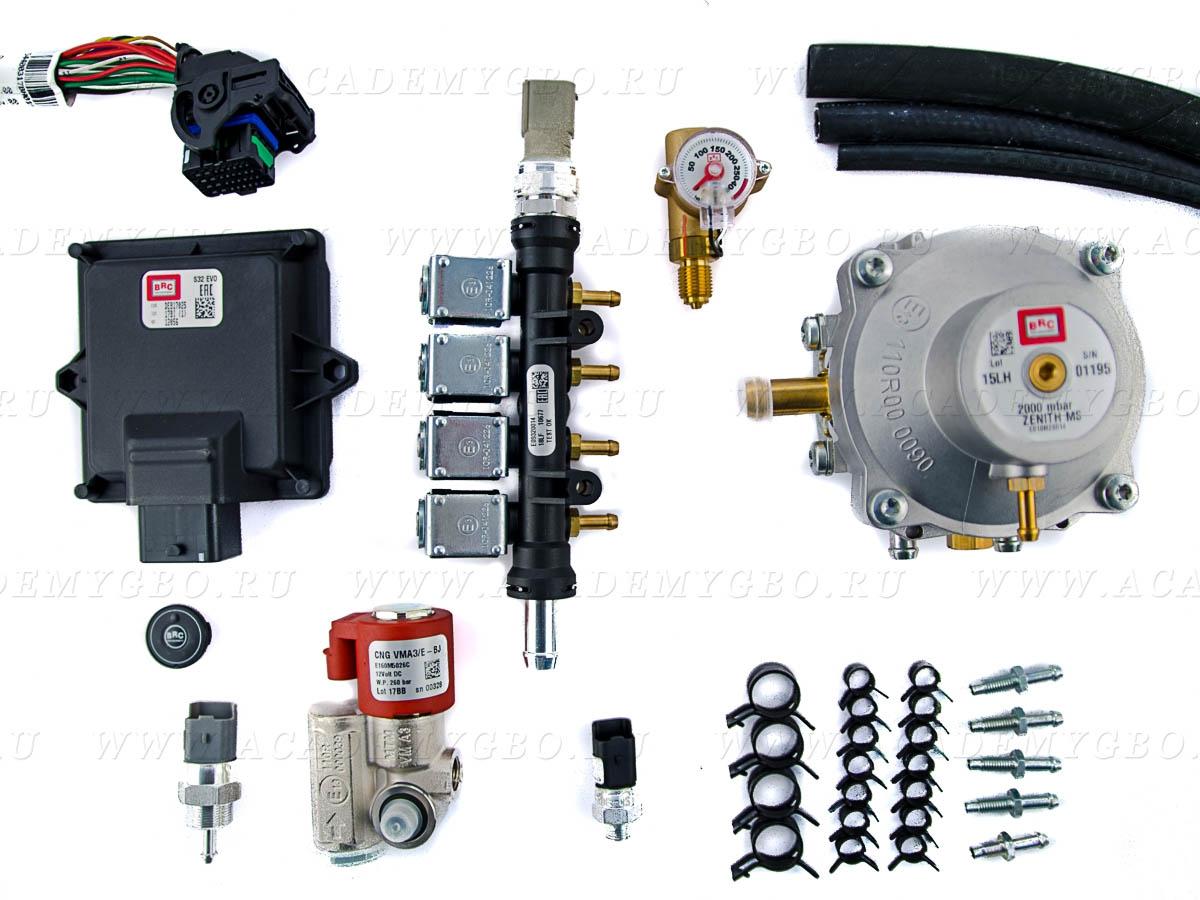 CNG Sequent 32 Alba 4 цил. >100kW (GP13 injectors, Zenit)