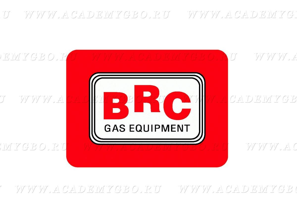 Наклейка BRC 150х110 мм.