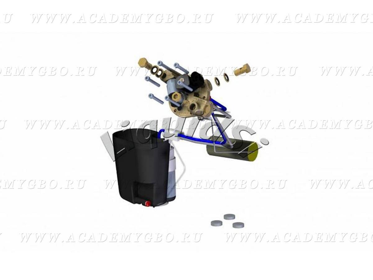AC315: Топливный модуль под цилиндрический 30° <125 kW