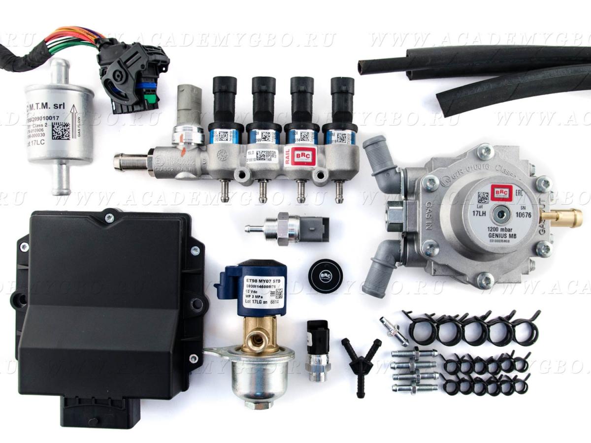 BRC P&D MY10 4 цил. <80 kW (синие, G-МВ1200, ориг.фильтр)