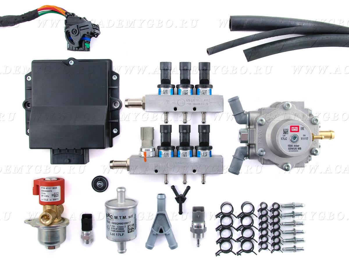 BRC P&D 6 цил. <120 kW (V, синие, G-МВ, ориг.фильтр)