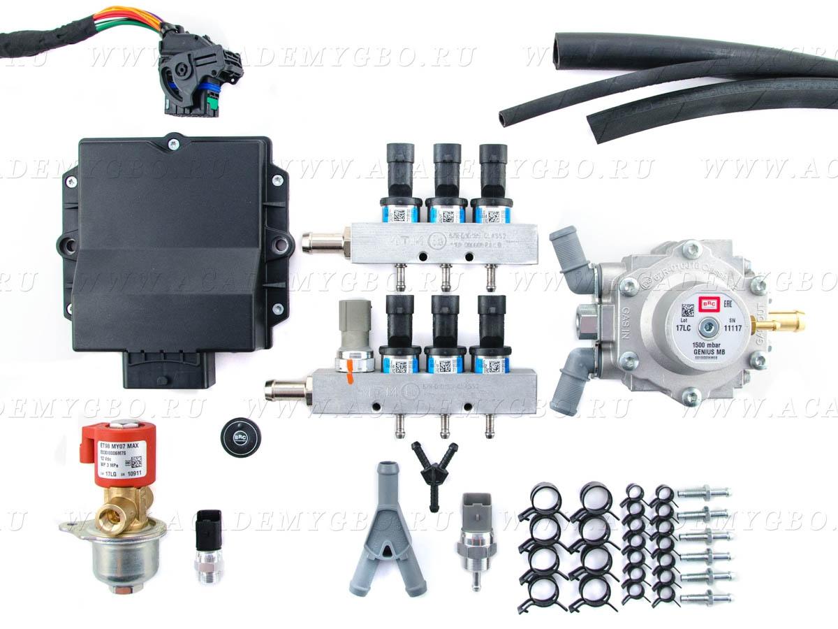 BRC P&D 6 цил. <120 kW (V, синие, G-МВ) без фильтра