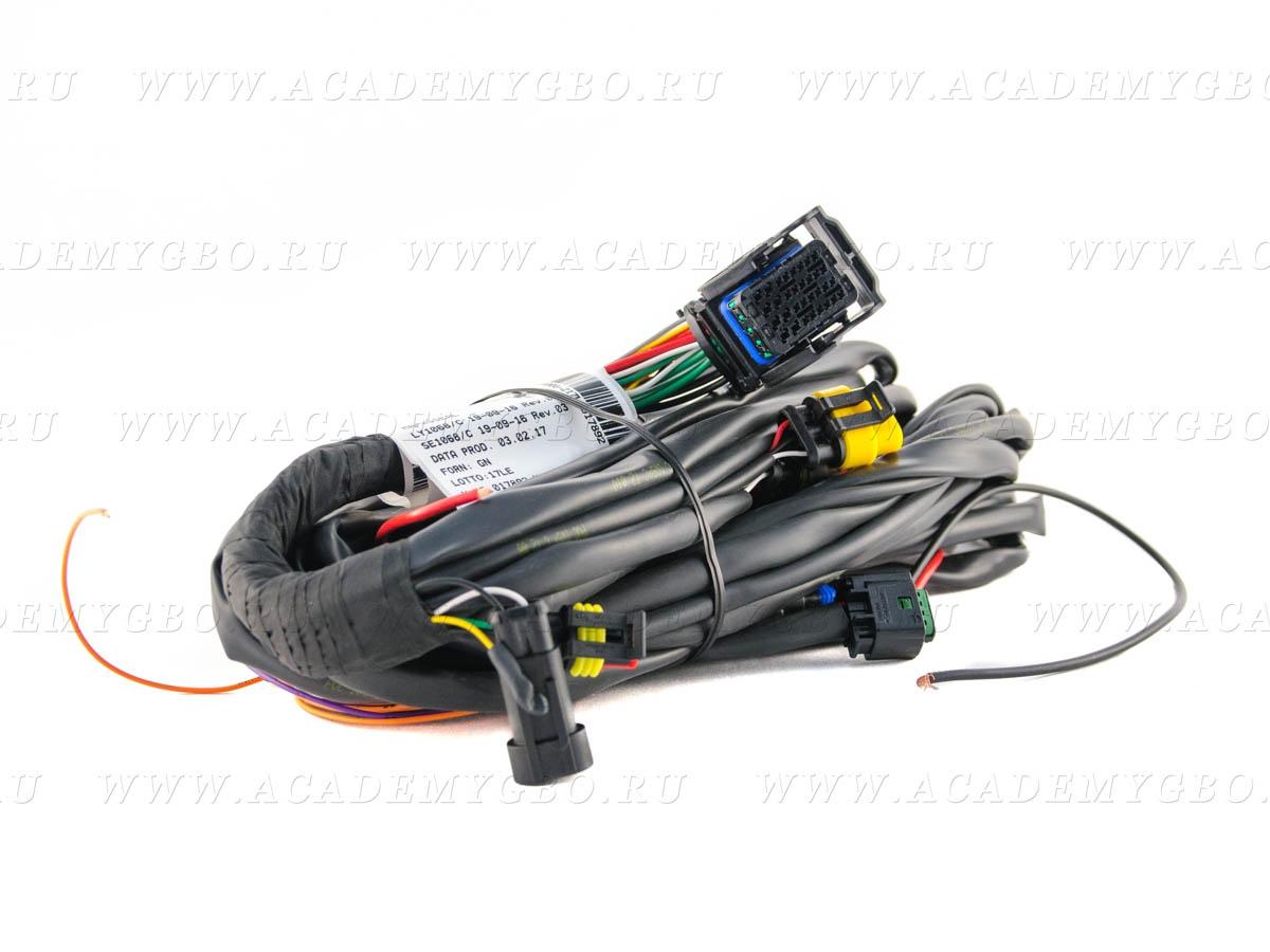 Проводка BRC ЭБУ S32 GP13 4 цил.