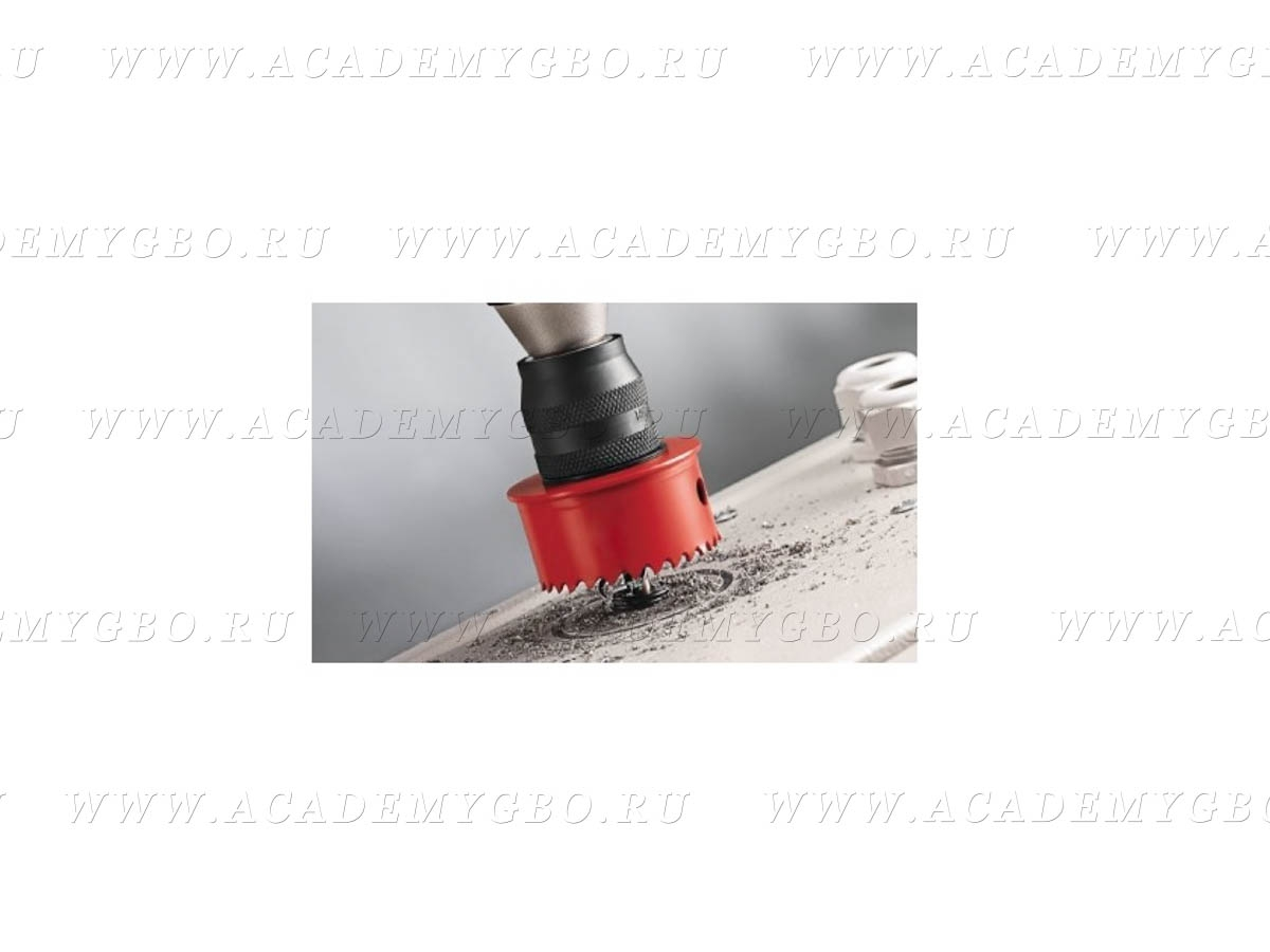 Коронка 51 мм под вентиляцию БАЖ для тор. баллонов с внутренней горловиной