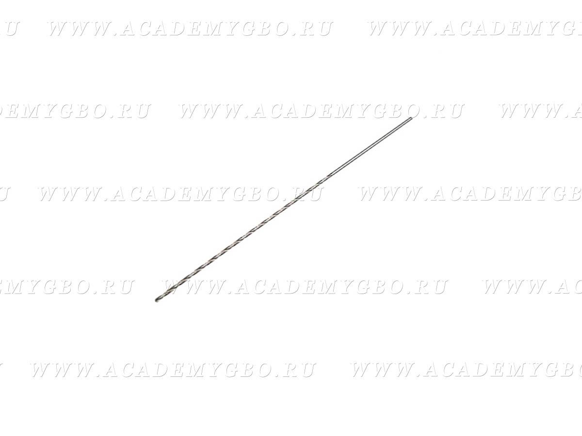 Сверло рассверловки жиклера форсунки 1,7 Р6М5 А1