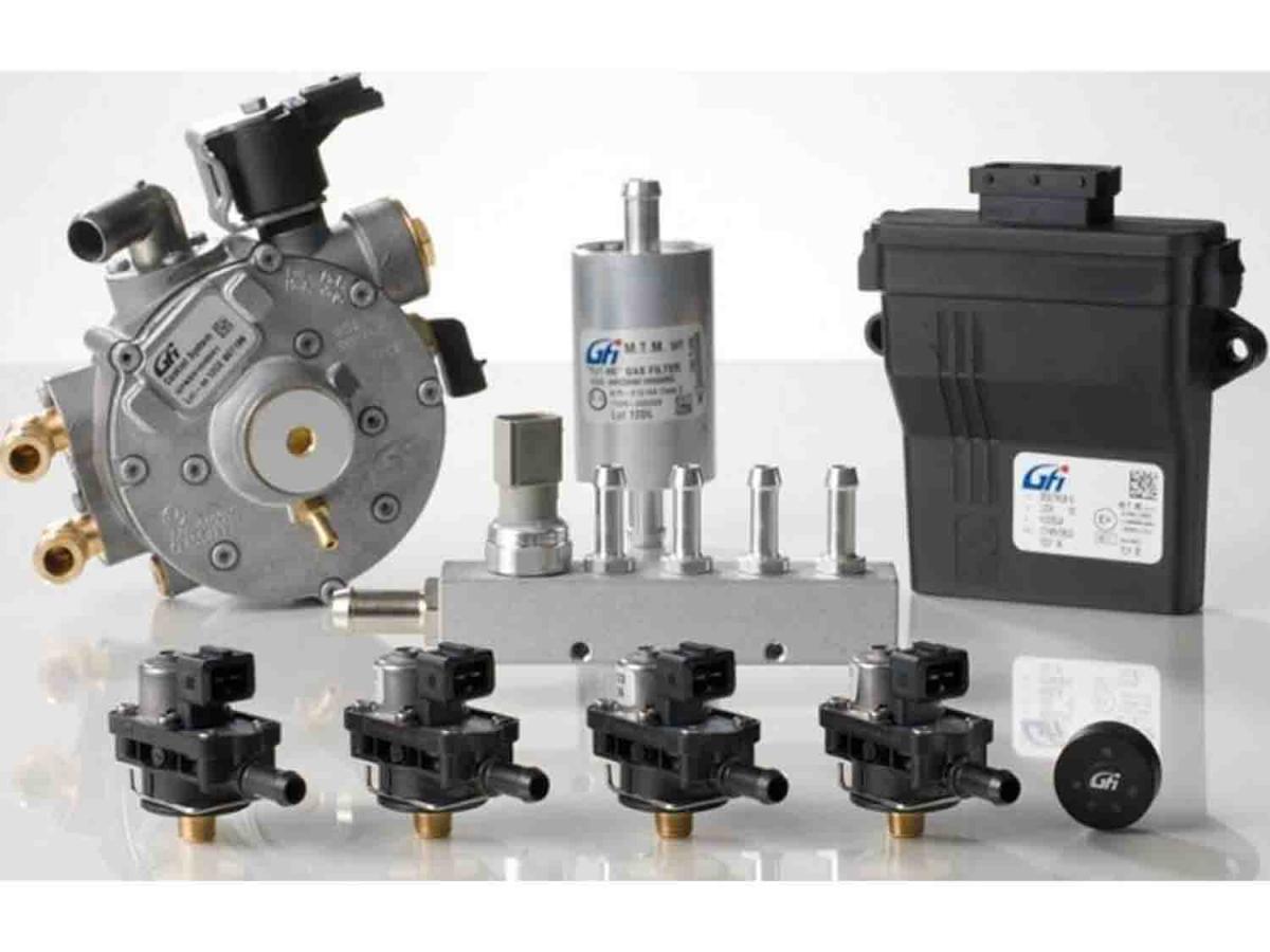 GFI EZ-Start Plus, 4- цил редуктор SGI 1000 инжекторы GFI-003