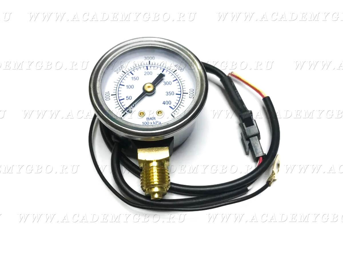 Манометр давления CNG электронный (0-40МРа) 12V