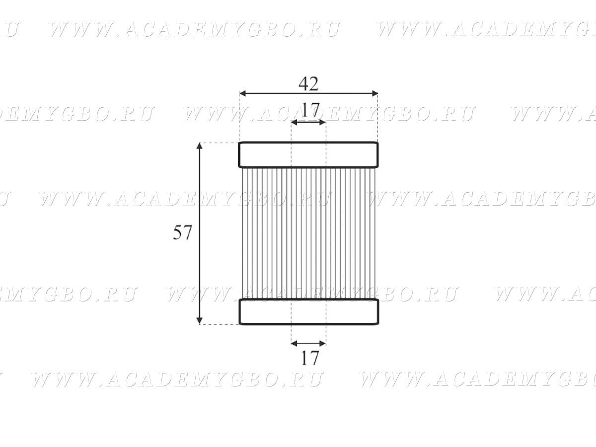 Картридж-фильтр паровой фазы BRC FJ1 HE (аналог)