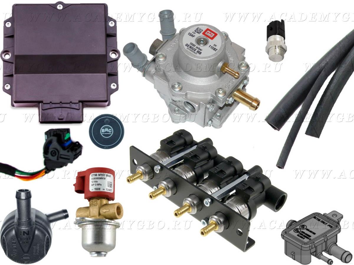 BRC P&D MY10 4 цил. >100 kW (BARRACUDA, G-MB1500, ориг.фильтр)